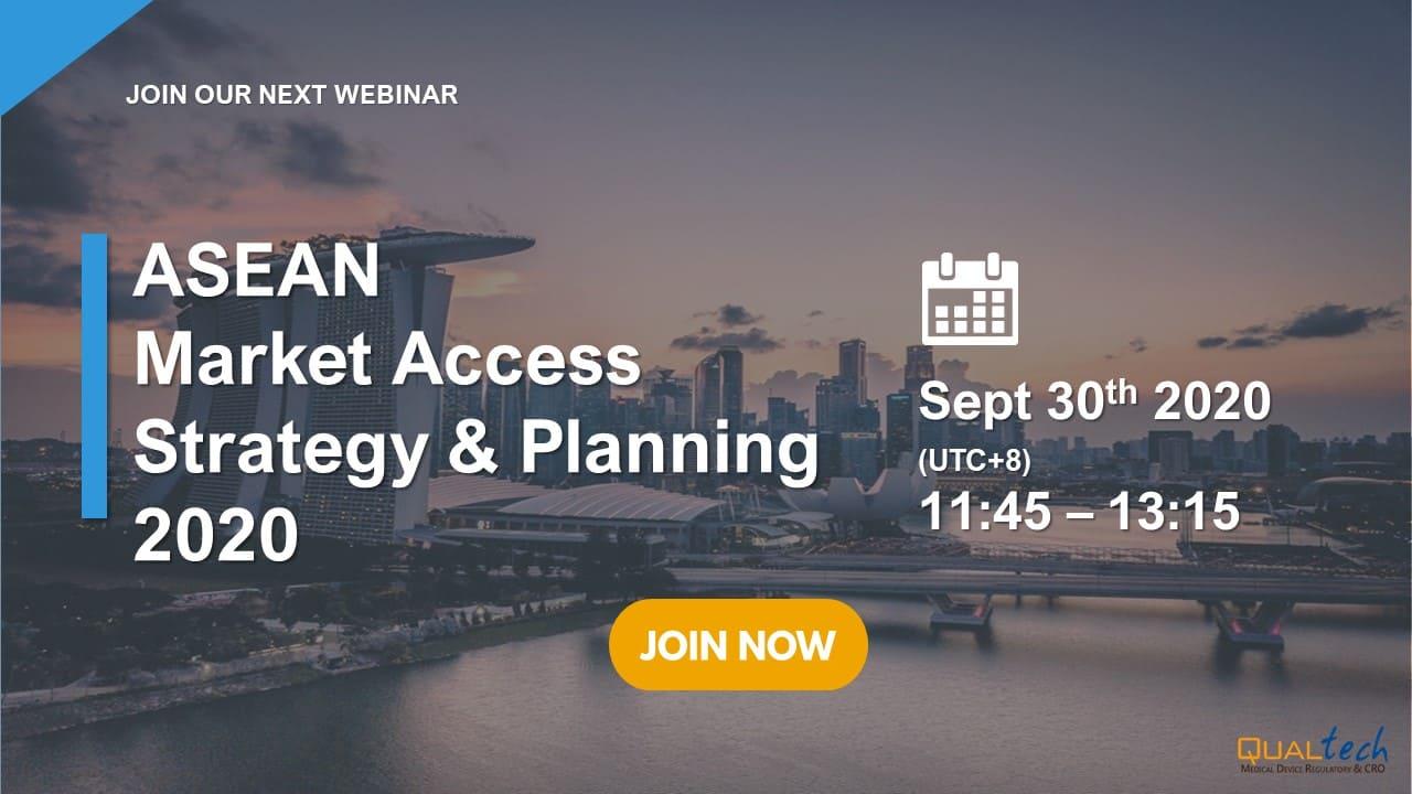 QT Webinar: ASEAN Market Access Strategy & Planning - August, 2020